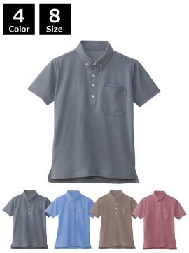 JC-90618 半袖BDポロシャツ(男女兼用)