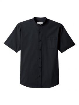 ARB-EP8240 スタンドカラーシャツ(男女兼用・半袖) 拡大画像