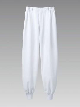 DA77012 男女兼用パンツ(ノータック・両脇ゴム) 拡大画像
