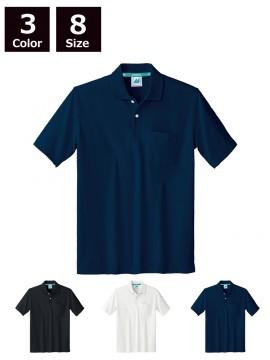 325050 ポロシャツ(男女兼用・半袖) 拡大画像