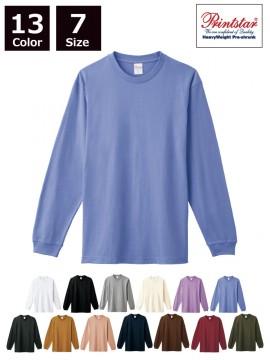 WE-00110-CLL 5.6オンス ヘビーウェイトLS-Tシャツ(+リブ)