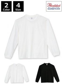 WE-00114-BCL 5.6オンス ヘビーウェイトビッグLS-Tシャツ