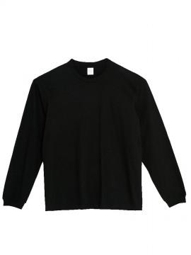 WE-00114-BCL 5.6オンス ヘビーウェイトビッグLS-Tシャツ 拡大画像