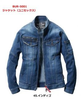 5001 ジャケット(ユニセックス)インディゴ