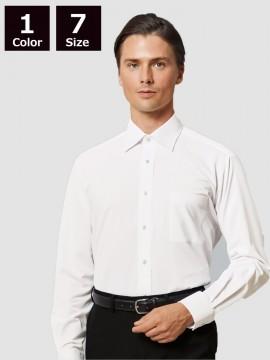 BS-24116 ニットシャツ モデル着用 長袖