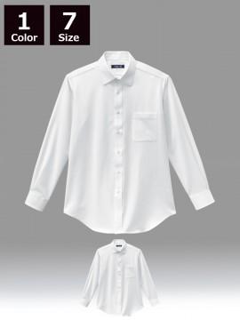 BS-24116 ニットシャツ 商品一覧 白