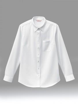 BS-24243 ニットシャツ 拡大画像 白