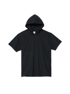 WE-00105-CHD 5.6oz ヘビーウェイト フーディTシャツ 拡大画像
