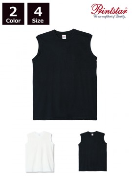 WE-00115-CNS 5.6oz ヘビーウェイト スリーブレスTシャツ
