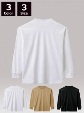 BM-MS1610 10.2オンススーパーヘビーウェイトモックネックTシャツ