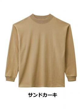 BM-MS1610 10.2オンススーパーヘビーウェイトモックネックTシャツ 拡大画像