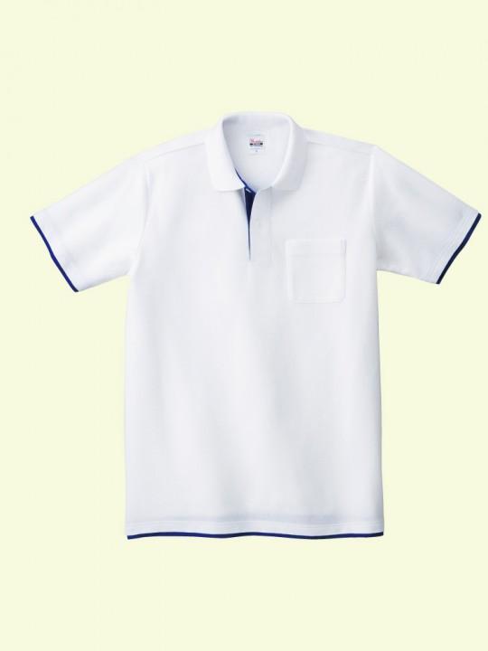 ポケット付ポロシャツ